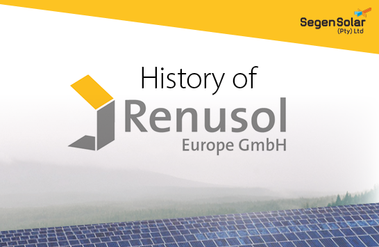 Renusol – A history of solar racking