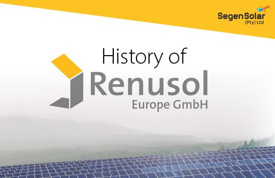 Renusol – A history of solar racking