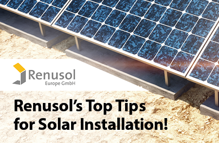 Renusol's top tips on ground mounting