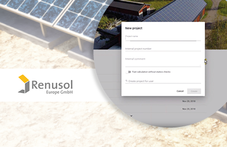 A bespoke system-building software with Renusol