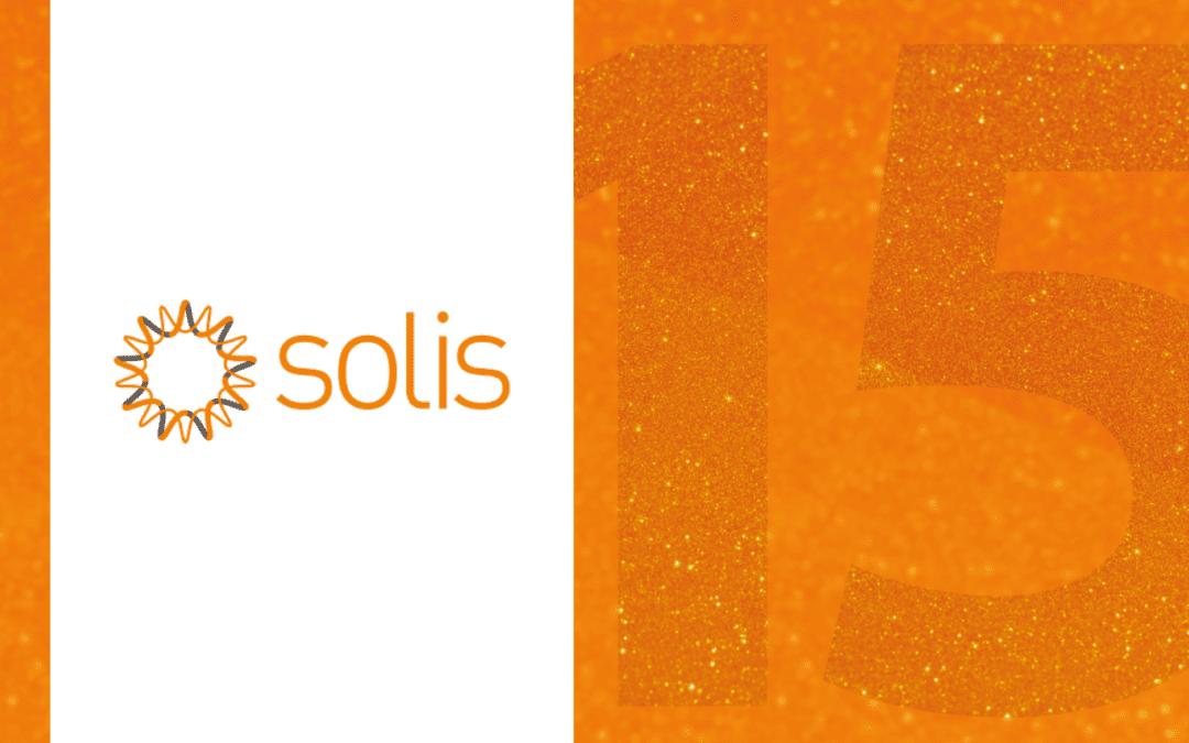 Solis 15-year anniversary