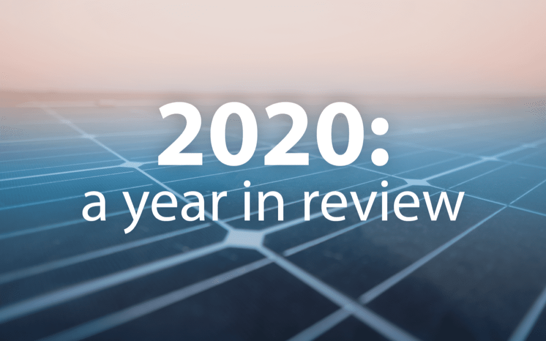 2020 with SegenSolar: a year in review