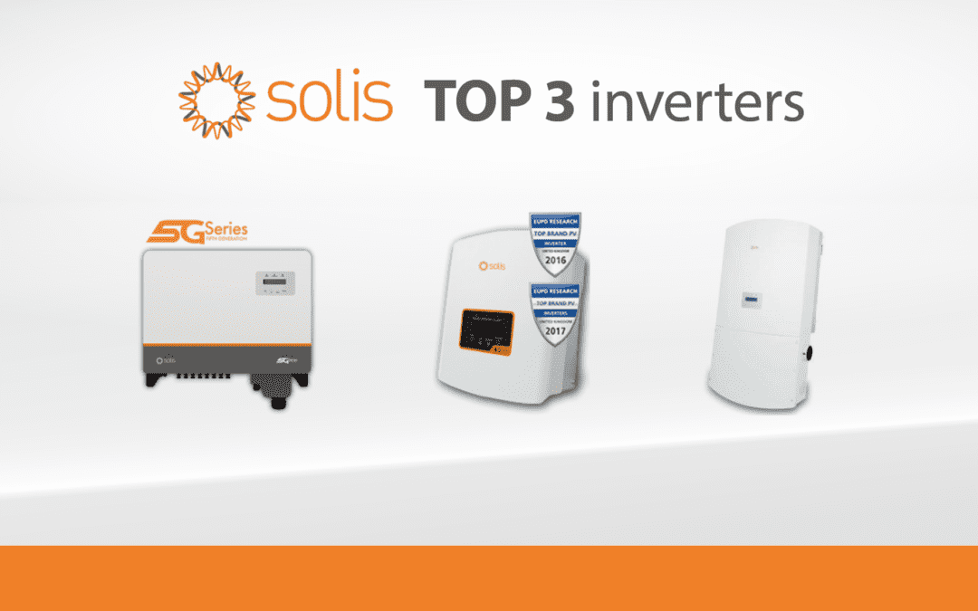 SegenSolar recommends these THREE Solis inverters