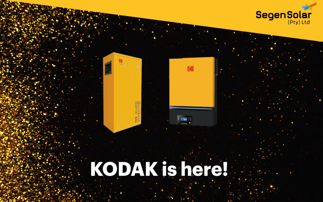 New KODAK Solar Products