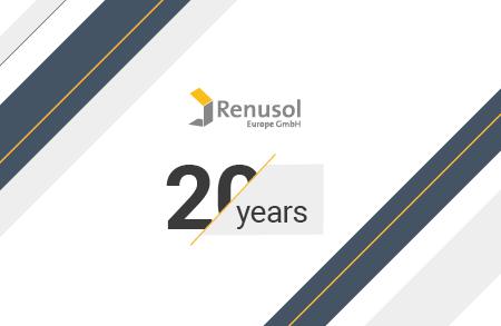 Renusol's extended 20-year warranty
